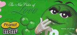 green-m&ms